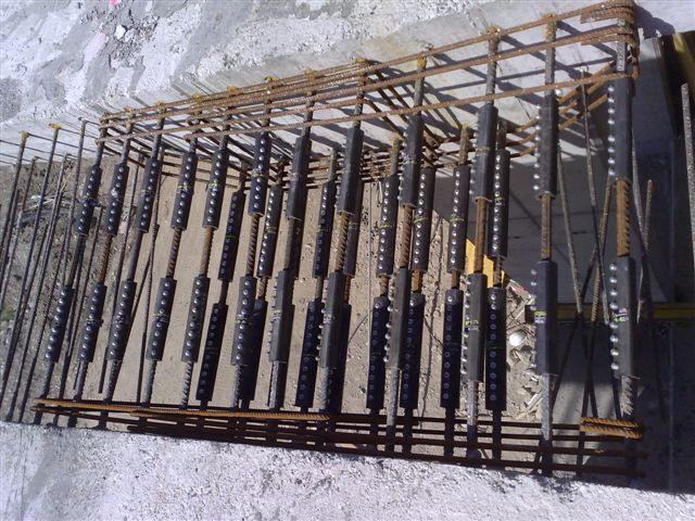 Reinforcing Steel Couplers : Mechanical splices and anchorage for reinforcing bars