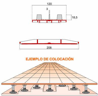 Ediplot soporte con dispositivo de elevacion plot - Cubierta sobre plots ...