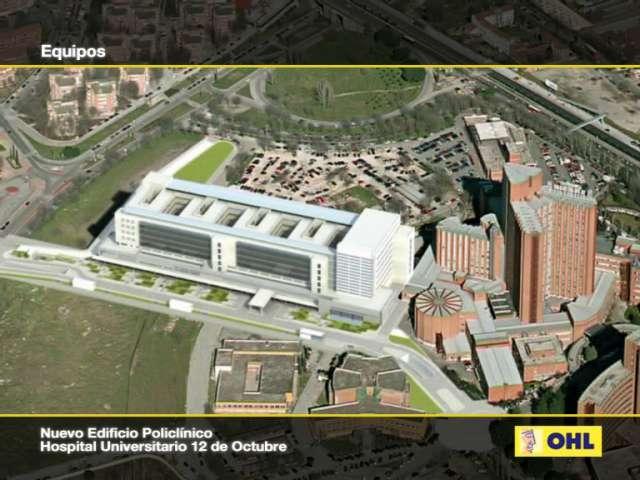 Nuevo policl nico del hospital 12 octubre edingaps for Hospital de dia madrid
