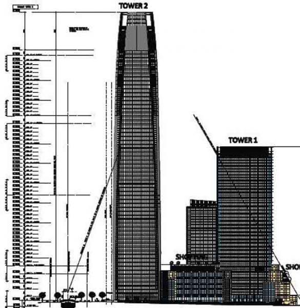 Costanera Center Chile Pronto Sera El Edificio Mas Alto